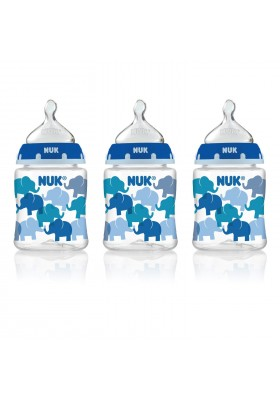 NUK Fashion Orthodontic Bottle Elephant Boy 5 oz 150ml 1/2/3