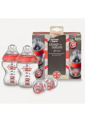 Tommee Tippee Best of British Gift Set- Red