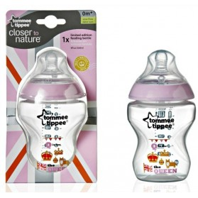 Tommee Tippee Closer To Nature Best Of British 9oz / 260ml Pink