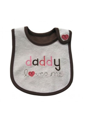 Carter's Bib - Daddy Loves Me