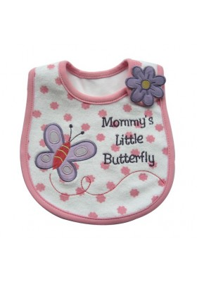 Carter's Bib -Mommies Little Butterfly