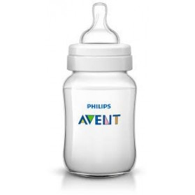 Philips Avent Bottles 1 x 9oz / 260 ml Classic+ Plus (PP) BPA Free-Loose Pack