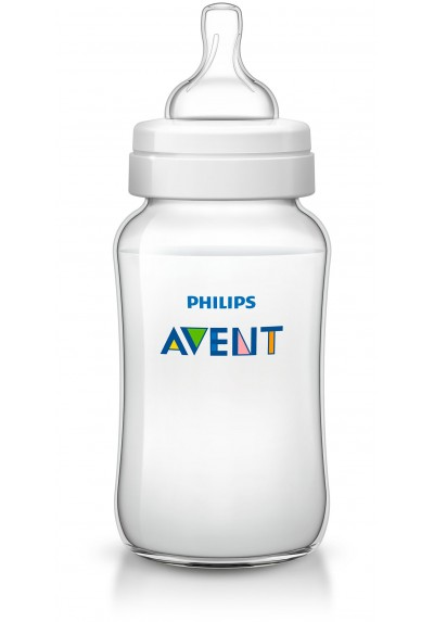Philips Avent Bottles 1 x 11oz / 340 ml Classic+ Plus (PP) BPA Free-Single Pack