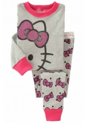 BabyGap Pyjamas 2T to 7T Kitty Grey