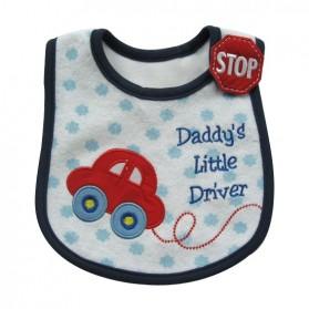 Carter's Bib - Daddy's Little Driver