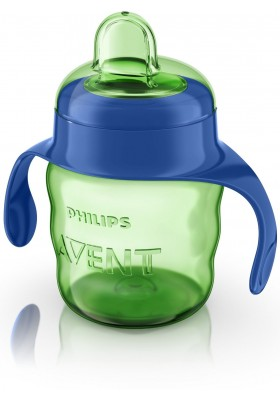 Philips Avent Easy Sip Spout Cup with Handle 200 ml Blue 6month