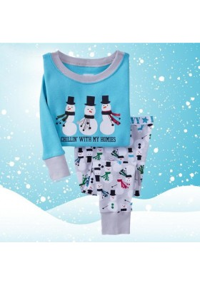 BabyGap Pyjamas 2T to 7T Three Snowmans