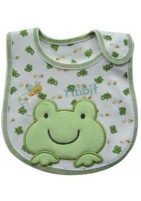 Carter's Bib -Little Frog