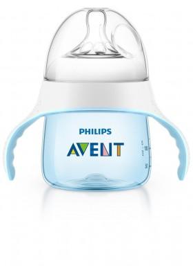 Avent My Penguin Sippy Cup Premium Spout Cup Blue 4m+ 5oz US version