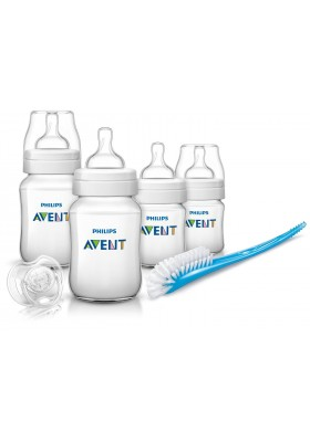Philips Avent Classic Plus + Newborn Starter Kit Free Shipping-PP-BPA-Free England set