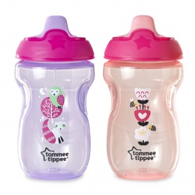 Tommee Tippee Sippee Cup Purple/Orange 10 oz