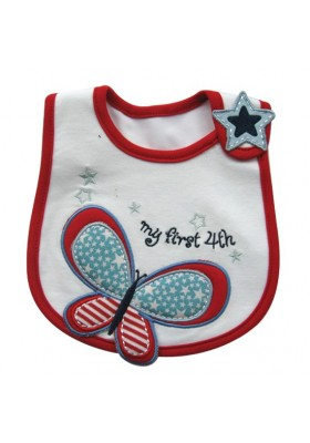Carter's Bib - My First 4th Butterfly