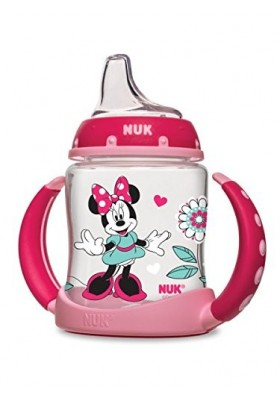 NUK Disney Minnie Mouse Learner Cup with Silicone Spout 5 oz
