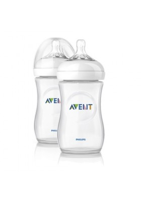 Philips Avent Bottle Natural 2 x 9oz / 260 ml (Twin) Indonesia Set