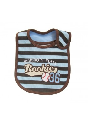 Carter's Bib - Mommy's Little Rookie