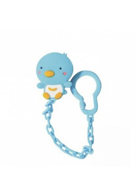 PUKU Pacifier Chain Blue/Pink