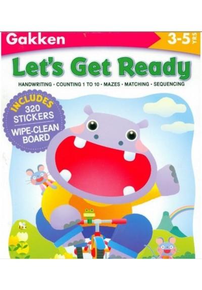Let's Get Ready (Gakken Workbooks) [Paperback]