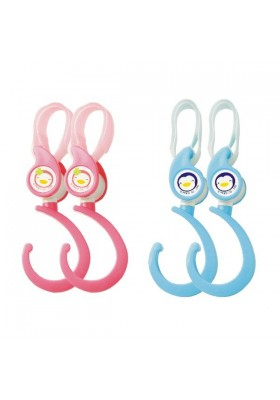 PUKU Safety Hook Blue/Pink