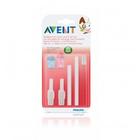 Philips AVENT Straw Cups Replacement straw sets With brush