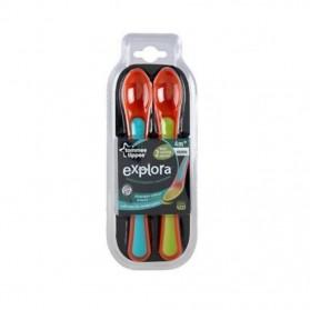 Tommee Tippee Explora Heat Sensing Feeding Spoons 2 Pack