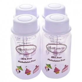 Autumnz Breastmilk Storage Bottles 4 bottles - Colors Varies