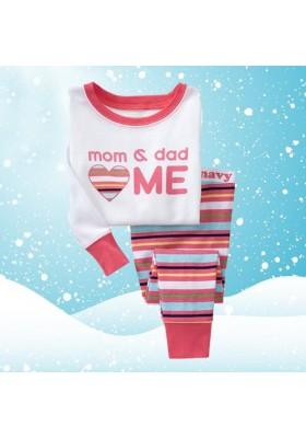 BabyGap Pyjamas 2T to 7T Mom & Dad Love Me