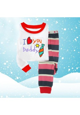 BabyGap Pyjamas 2T to 7T I Love You Daddy