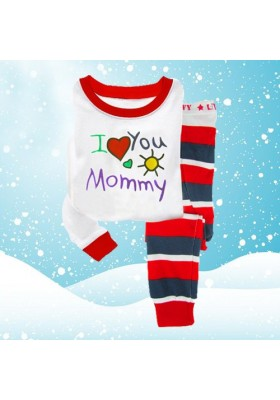 BabyGap Pyjamas 2T to 7T I Love You Mommy