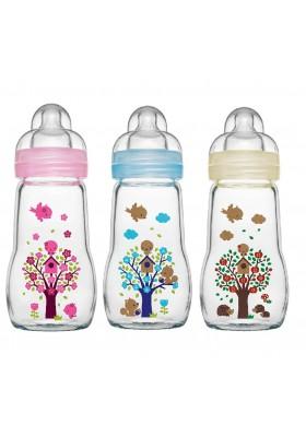 MAM Premium Glass Bottle 260ml  Single Pack