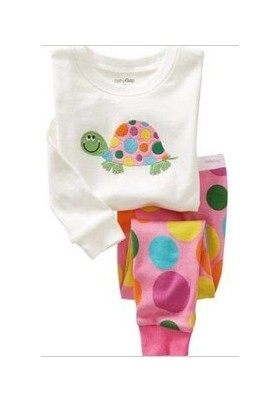 BabyGap Pyjamas 2T to 7T White Turtle