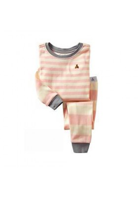 BabyGap Pyjamas 2T to 7T Pink Stripes