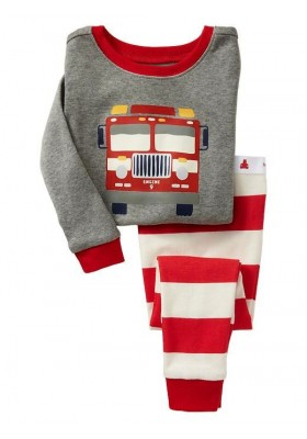 BabyGap Pyjamas 2T to 7 Fire Engine