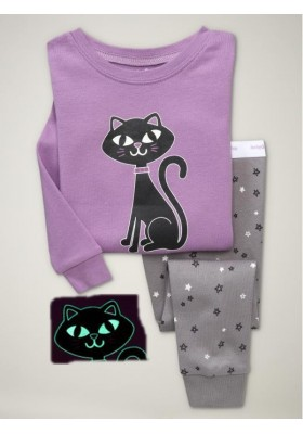 BabyGap Pyjamas 2T to 7T Purple Cat