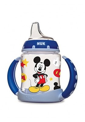 NUK Disney Mickey Mouse Learner Cup with Silicone Spout 5 oz