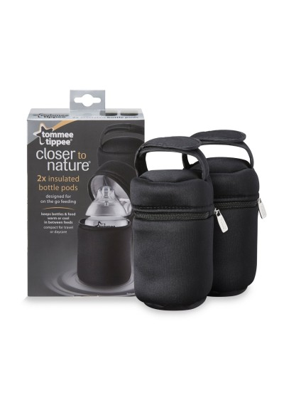 Tommee Tippee Insulated Bottle Carrier Bag 2 pcs