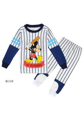 BabyGap Pyjamas 8T to 12T Mickey No 1 Slugger