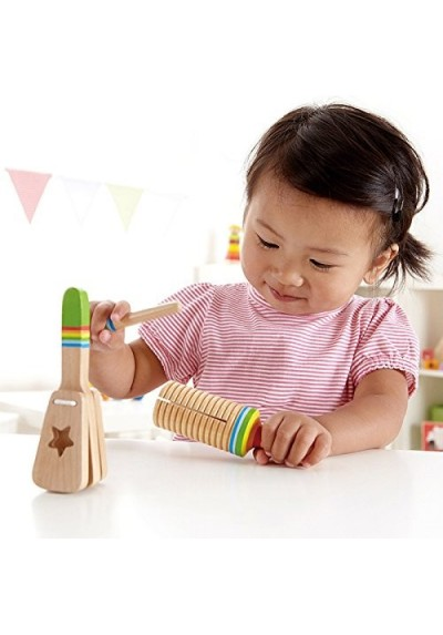 Hape Wooden Rhythm Set Toys 12m to 3 years