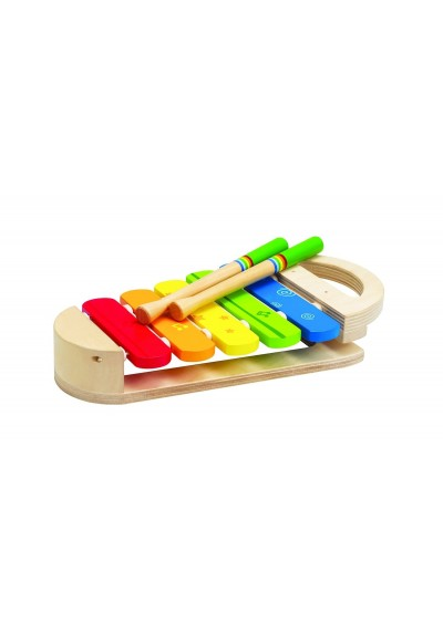 Hape Rainbow Xylophone Wooden Toys 12m - 3 years