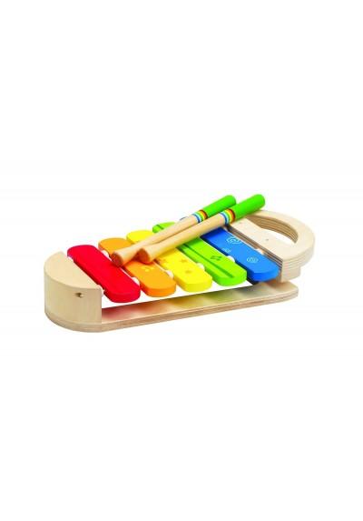 Hape Rainbow Xylophone Wooden Toys 12m - 3 years