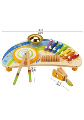 Hape Early Mighty Band Melodies Wooden Musical Toy 24 months and up