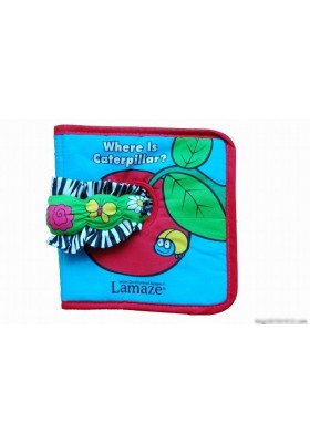 Lamaze-Where's the caterpillar? 15x16cm 8 pages Cloth Book