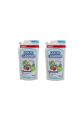 Pigeon Liquid Cleanser refill twin pack 700ml