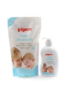 Pigeon Baby Shampoo (1 litres) + Baby Shampoo refill (900ml)