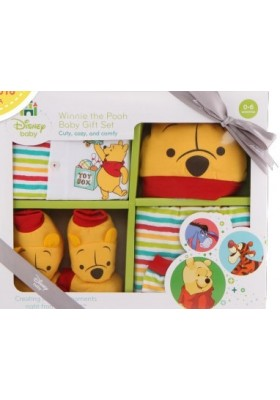 Disney Cuties Gift Set (Winne The Pooh) Green- 0-6m+