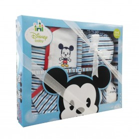 Disney Cuties Gift Set (Mickey) Blue- 0-6m+