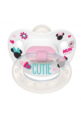 NUK Disney Baby Minnie Mouse Puller Pacifier 0-6 Months