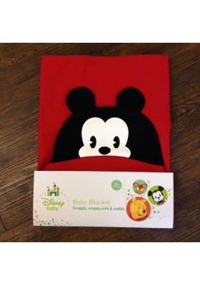 Disney Cuties Hooded Blanket (Mickey)