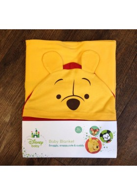 Disney Cuties Hooded Blanket (Winnie The Pooh)