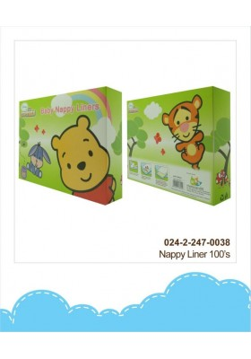 Disney Cuties Baby Nappy Liners (100pcs)