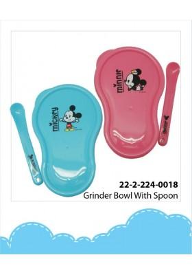 Disney Cuties Grinder Bowl with Spoon